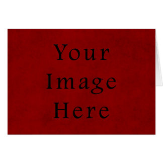 Papel de pergaminho vermelho do Natal do feriado d Cartão Comemorativo