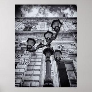 """Papel de poster Black&White """"ponto de vista """""""