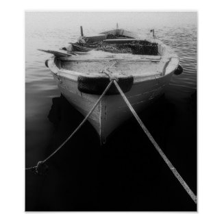 """Papel de poster Black&White """"portos e gravatas """""""