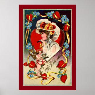 Papel de poster da senhora Meu Namorados Valor do