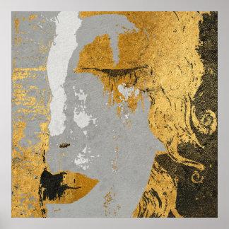 Papel de poster do Stylization da arte de Klimt