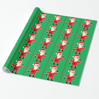 Papel De Presente 8 bocado Papai Noel