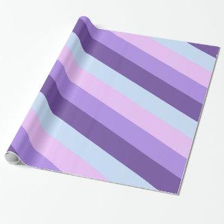Papel De Presente A lavanda delicada sonha a paleta de cores
