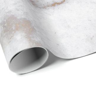 Papel De Presente A pedra de mármore cinzenta abstrata de Carrara do