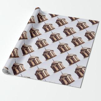Papel De Presente abóbada do chocolate