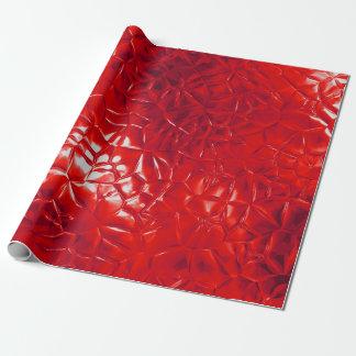 Papel De Presente abstrato vermelho da folha