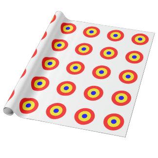Papel De Presente Alvo do Bullseye