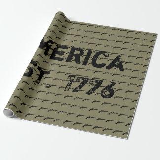 Papel De Presente América EST. 1776