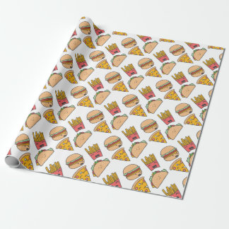 Papel De Presente amigos do fast food