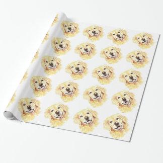 Papel De Presente Animal de animal de estimação bonito do cão do