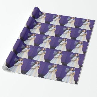 Papel De Presente Anjo pequeno Giftwrap