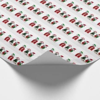 Papel De Presente APAL - Cães do Dalmatian do Natal