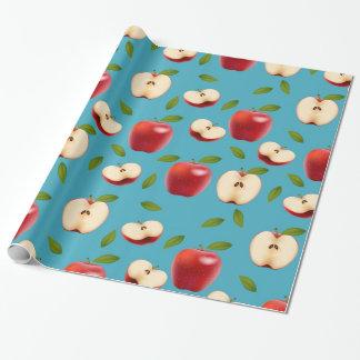 Papel De Presente Apple vermelho modela
