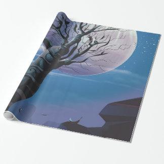 Papel De Presente Árvore da lua