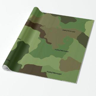 Papel De Presente As forças armadas tradicionais camuflam
