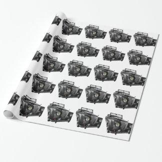 Papel De Presente Auto carro do clássico do Oldtimer