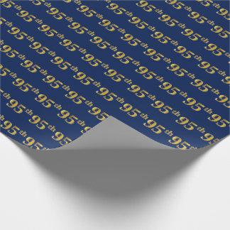 Papel De Presente Azul, evento do ouro 95th do falso (Ninety-Quinto)