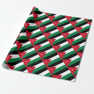 Papel De Presente Baixo custo! Bandeira de Jordão