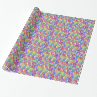 Papel De Presente Balões coloridos de flutuação leves