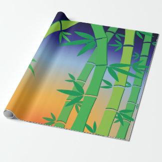 Papel De Presente Bambu
