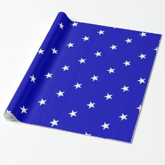 Papel De Presente Bandeira azul Bonnie