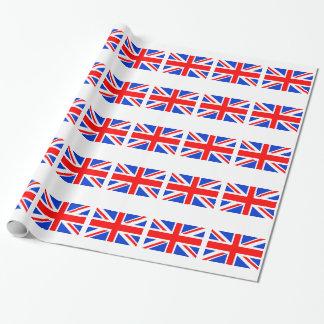 Papel De Presente Bandeira britânica