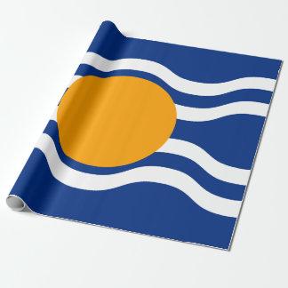 Papel De Presente Bandeira da federação das Índias Ocidentais