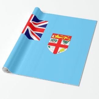 Papel De Presente Bandeira da ilha de Fiji