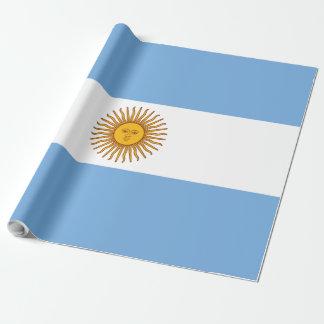 Papel De Presente Bandeira de Argentina