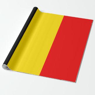 Papel De Presente Bandeira de Bélgica