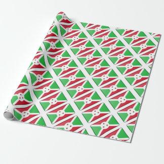 Papel De Presente Bandeira de Burundi