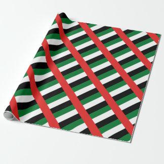 Papel De Presente Bandeira de Emiradosarabes