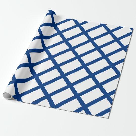 Papel De Presente Bandeira de Finlandia (lippu de Suomen, flagga de