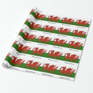 Papel De Presente Bandeira de Galês