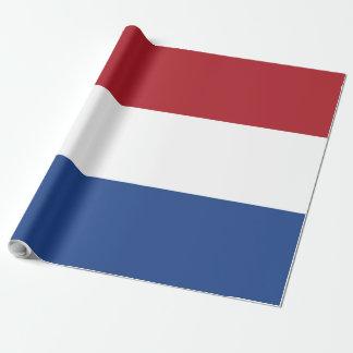 Papel De Presente Bandeira de Países Baixos