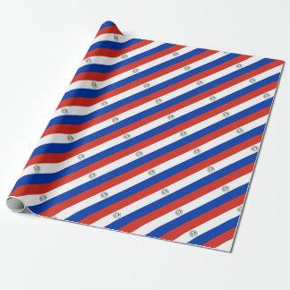 Papel De Presente Bandeira de Paraguai - bandera de Paraguai
