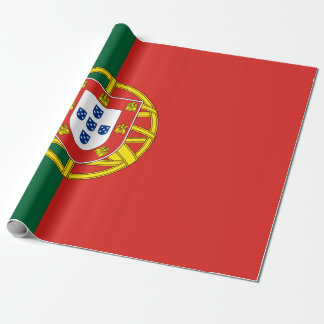 Papel De Presente Bandeira de Portugal