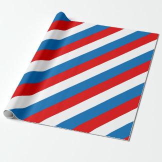 Papel De Presente Bandeira de Rússia