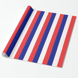 Papel De Presente Bandeira do francês Tricolore de France