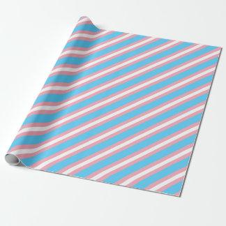 Papel De Presente Bandeira do orgulho do Transgender - arco-íris do