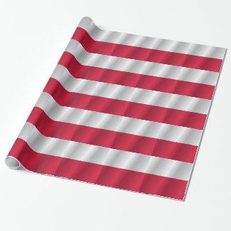 Papel De Presente Bandeira do Polônia