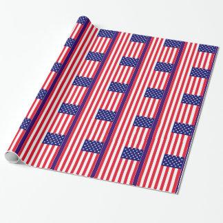 Papel De Presente Bandeira dos EUA