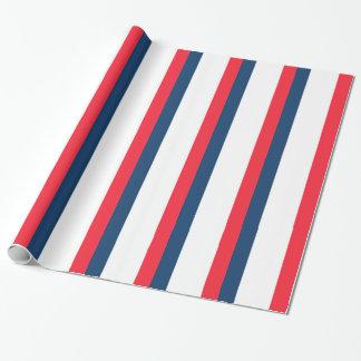 Papel De Presente Bandeira francesa