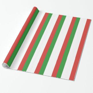 Papel De Presente Bandeira italiana