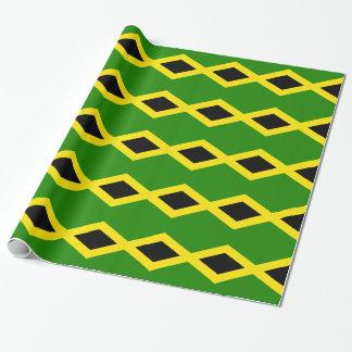 Papel De Presente Bandeira jamaicana