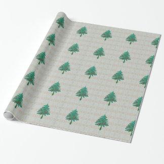 "Papel De Presente Batik da árvore 1 papel de envolvimento 30"" x 6'"
