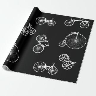 Papel De Presente Bicicleta histórica