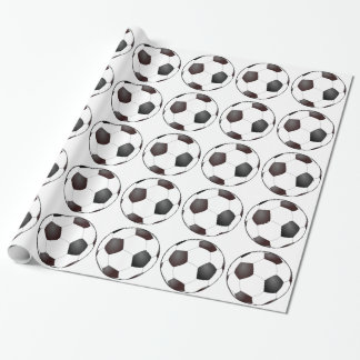 Papel De Presente Bolas de futebol