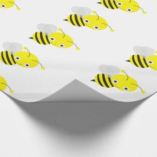Papel De Presente Bonito Bumble a abelha