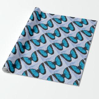 Papel De Presente Borboleta azul de Morpho